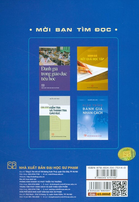 Giáo Trình Kiểm Tra Đánh Giá Trong Giáo Dục (Tái bản 2021)