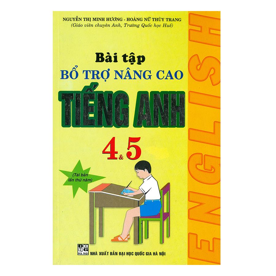 Bài Tập Bổ Trợ Nâng Cao Tiếng Anh Lớp 4 Và 5