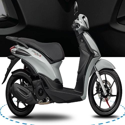 Xe máy Piaggio Liberty  125 ABS E3 S - Xám