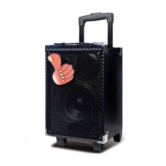Loa Kéo Karaoke Q8S siêu hay - Tặng Kèm 1 Micro Không Dây