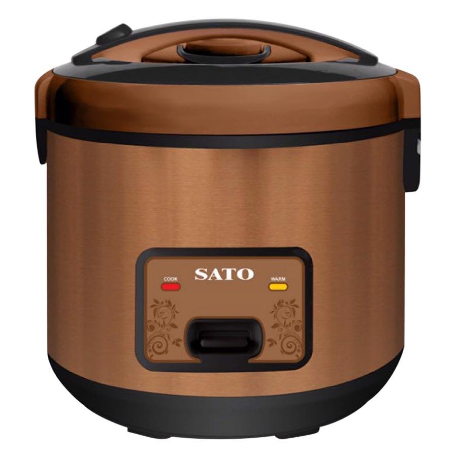 Nồi Cơm Điện Nắp Gài SATO S30-30D (3.0 Lít) - Hàng chính hãng