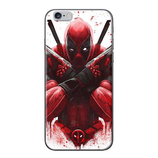 Ốp Lưng Dành Cho iPhone 6 Plus  6S Plus Deadpool