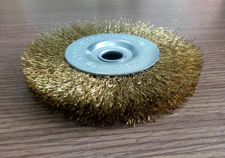 Combo 5 Bánh cước Osborn đường kính 100, lỗ 12.7, sợi thép mạ đồng 0.3 sợi chổi dài 24mm-0028601010