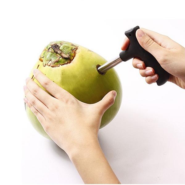 Dụng cụ khui dừa - Màu Đen
