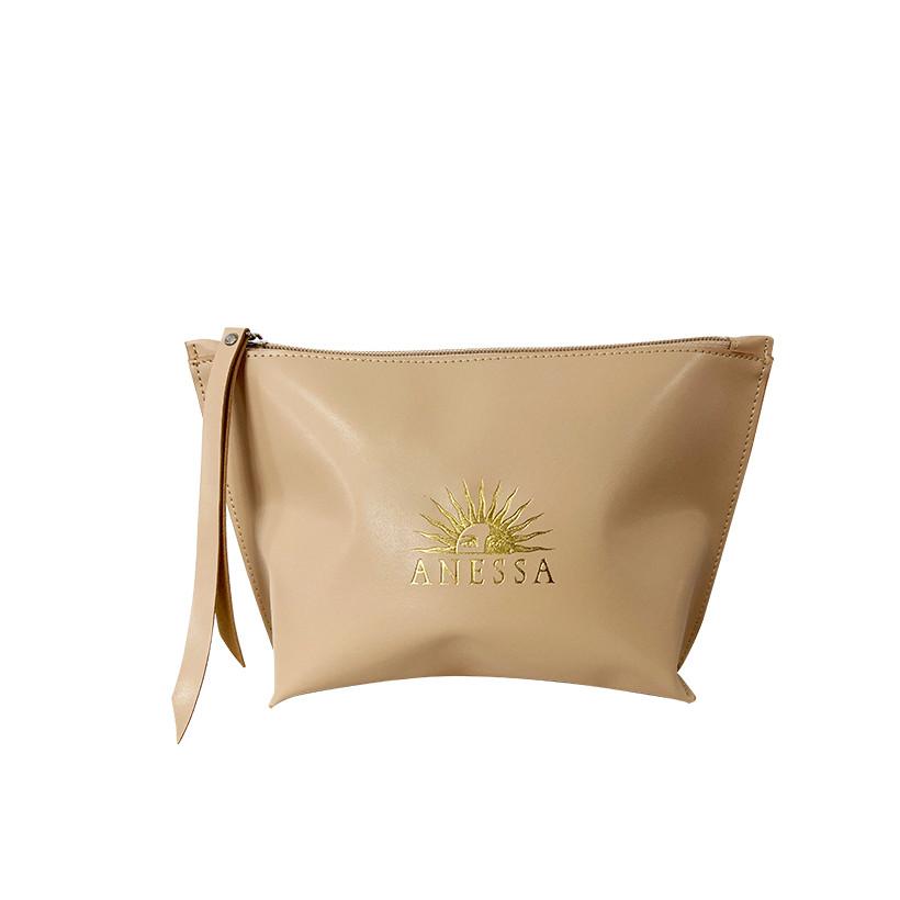 Kem chống nắng kiềm dầu khô thoáng hoàn hảo siêu tiết kiệm Anessa Gold Milk SPF 50+ PA++++ 60ml Tặng Túi make up Anessa