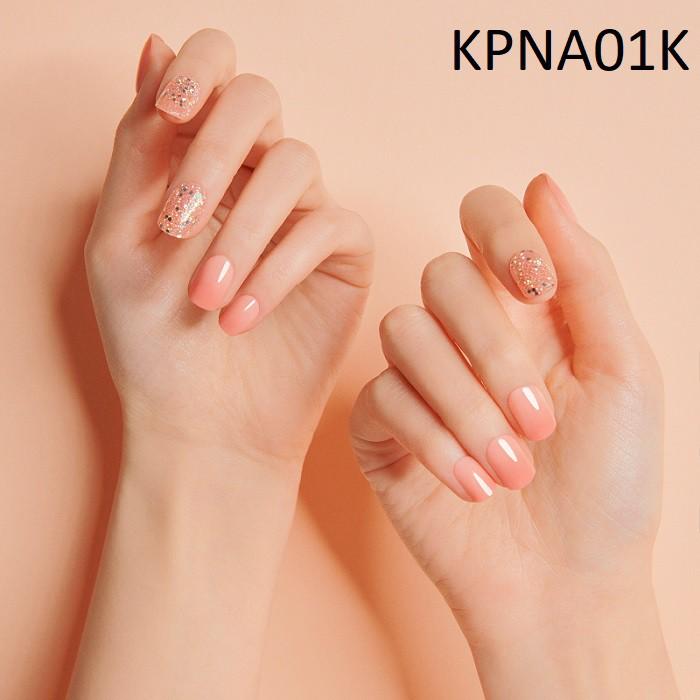 Bộ 30 Móng Tay Gel Dán Press & Go Kiss New York Nail Box - Warm Pink (KPNA01K)