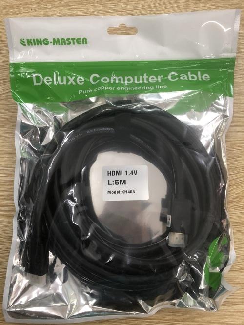 Dây HDMI sang HDMI Kingmaster 1,5m hỗ trợ 4k*2k - Hàng Chính Hãng