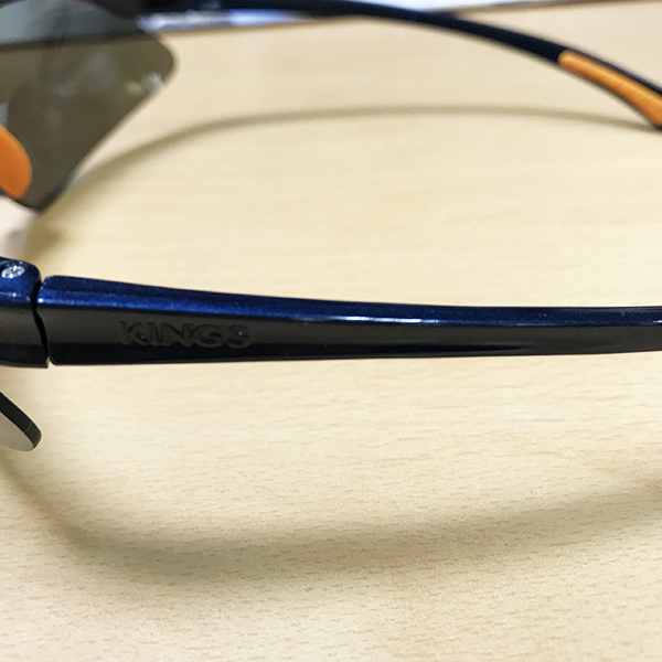 Kính bảo hộ King's KY314B kính chống bụi, chống trầy xước, chống đọng hơi sương, chống tia cựa tím (đen tráng bạc)