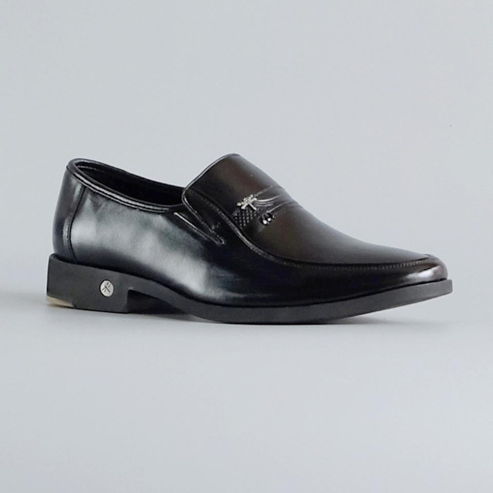Giày da nam con chuồn chuồn cao cấp chính hãng Fu Khang