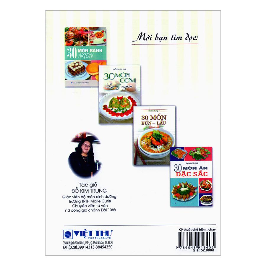 Kỹ Thuật Chế Biến Món Ăn Chay