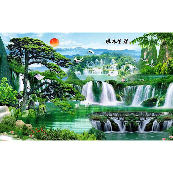 Tranh Treo Tường Sơn Thủy ST0299