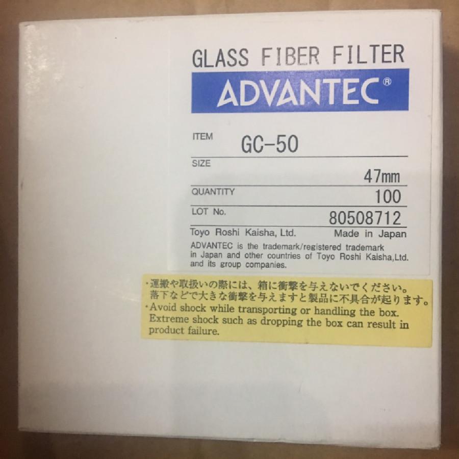 Giấy lọc sợi thủy tinh GC-50, đường kính: 47mm
