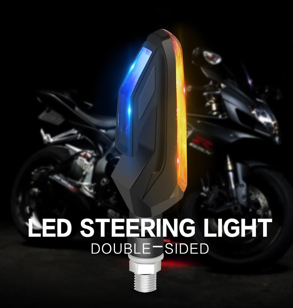 Bộ đèn led xi nhan 2 màu cho xe máy
