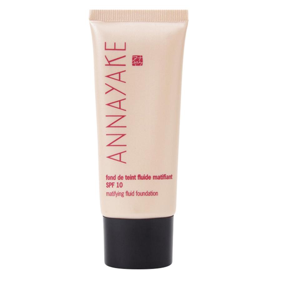 Combo Makeup Cơ Bản Annayake: Kem Nền + Phấn Phủ + Phấn Má Hồng Dâu + Phấn Mắt Ánh Tím Thời Thượng