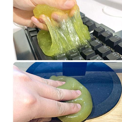 Gel Silicone Làm Sạch Bụi Bẩn Ô Tô Bàn Phím Máy Tính