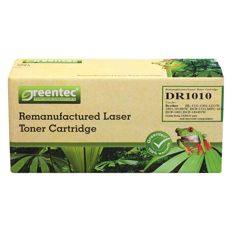 Drum laser đen trắng Greentec Brother DR1010 - Hàng chính hãng