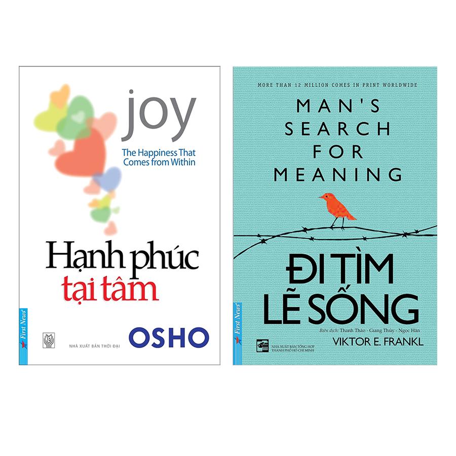 Combo Hạnh Phúc Tại Tâm + Đi Tìm Lẽ Sống (2 cuốn) - Sách tư duy - Kỹ năng  sống Tác giả Nhiều Tác Giả | SachDayRoi.com