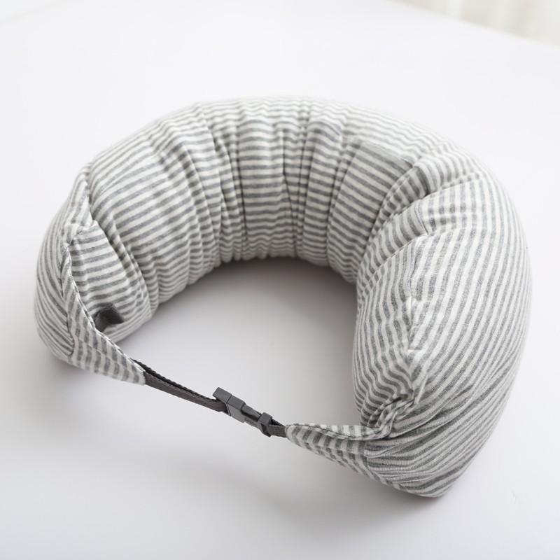 Gối Cổ Du Lịch Đa Năng STUDIO 77 - Stripe Grey