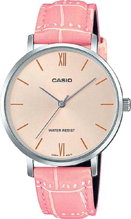 Đồng hồ Casio nữ dây da LTP-VT01L-4BUDF (34mm)