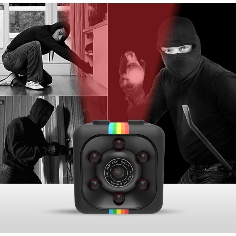 Camera Hành Trình Mini DV SQ11 Full HD 1080P Hỗ Trợ Ban Đêm Cao Cấp AZONE