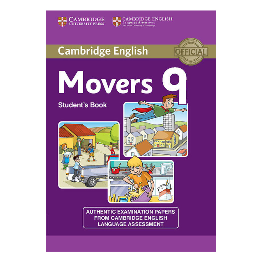 Cambridge Young Learner English Test Movers 9: Student Book