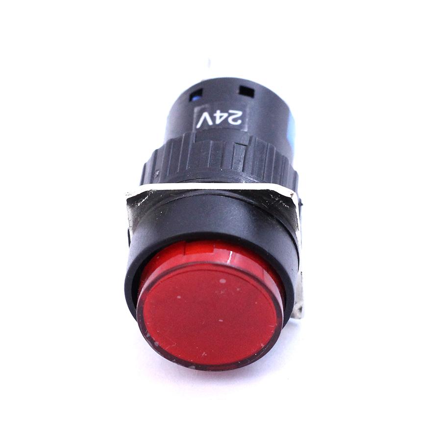 Nút Nhấn Đề 20mm-24VDC AL6- A Nhấn Giữ Có Đèn