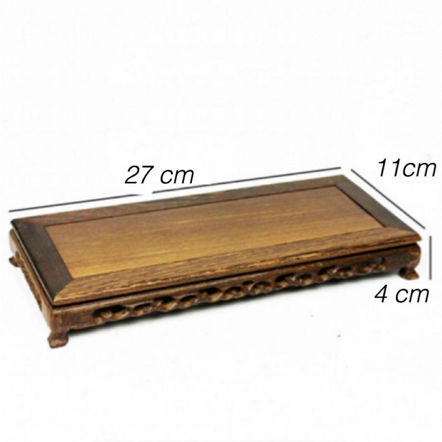 ĐẾ GỖ TỰ NHIÊN CHỮ NHẬT dài 27 cm , rộng 10,5 cm giá ĐỂ ĐẶT TƯỢNG , ẤM TRÀ .... TRANG TRÍ