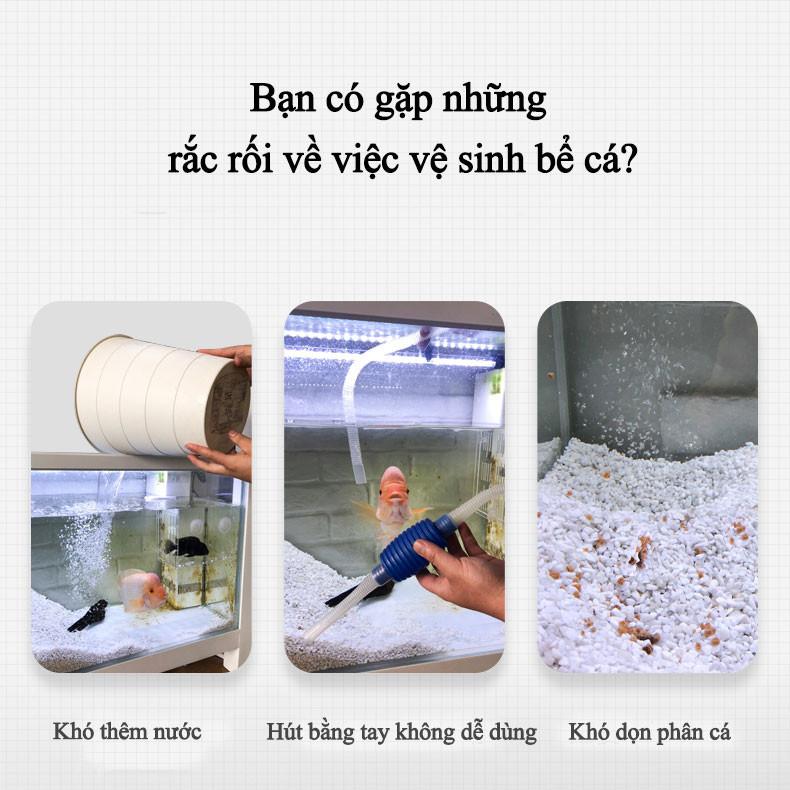 Máy thay nước rửa cát bằng điện 4in1