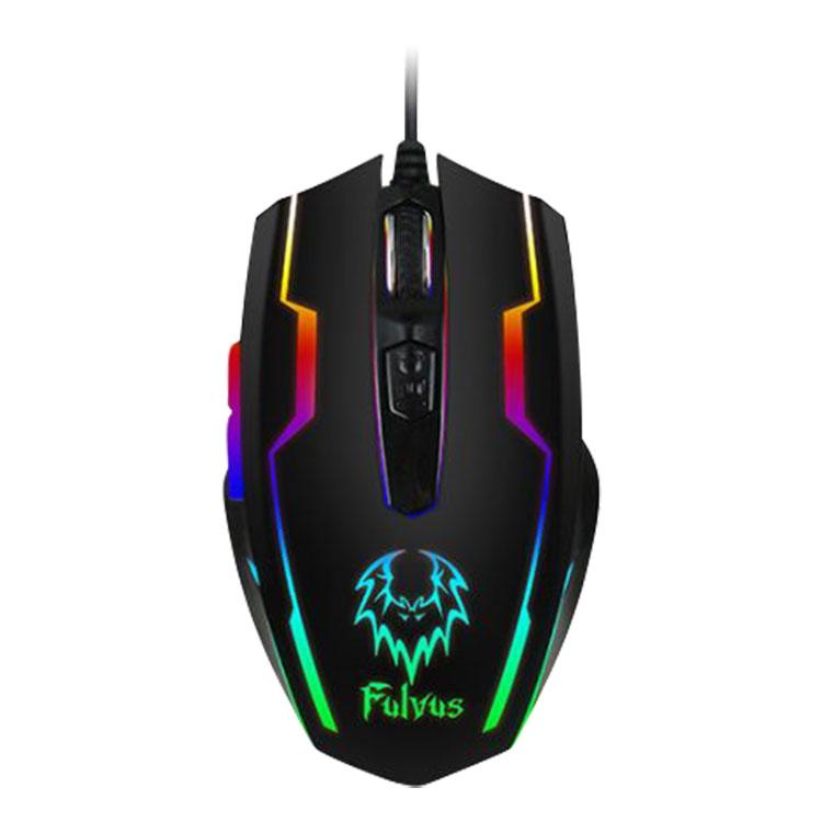 Chuột Gaming Có Dây Prolink Fulvus PMG9003 2400DPI RGB - Hàng Chính Hãng