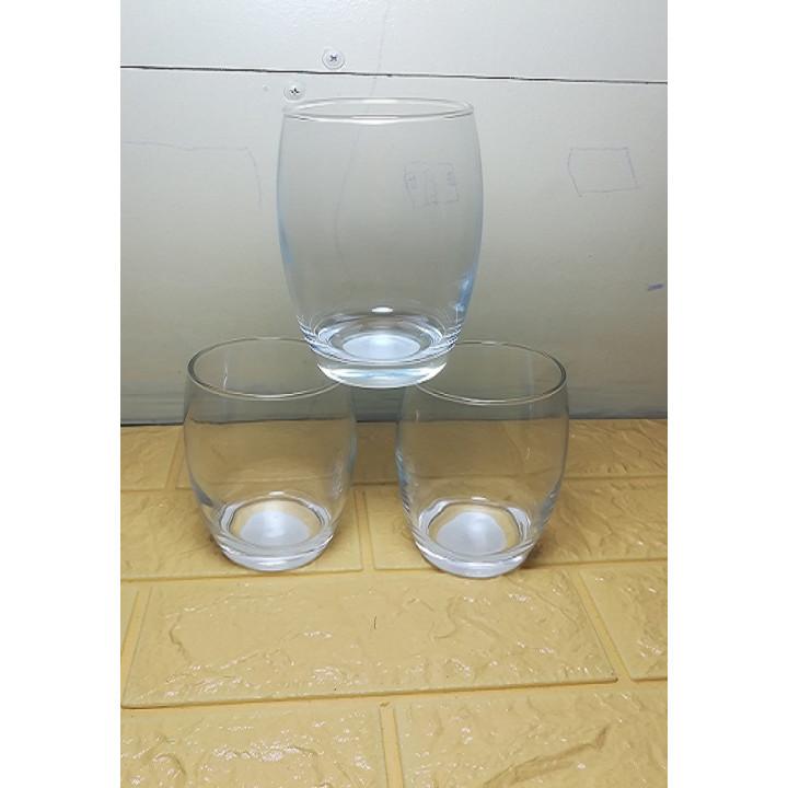 bộ 6 ly thủy tinh kiểu cách cao cấp