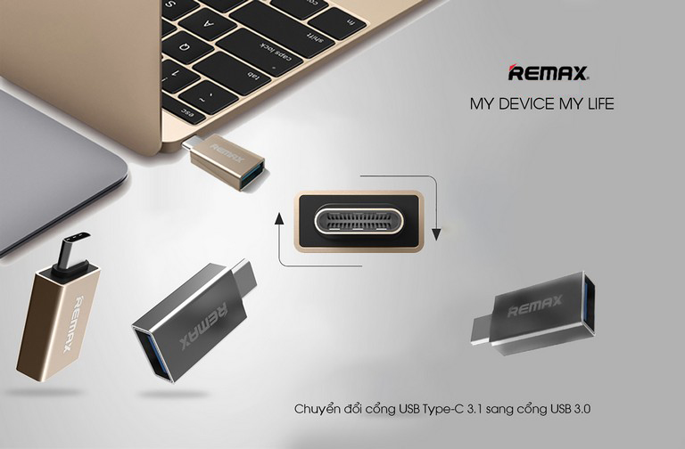 USB OTG Type – C Remax RA-USB3 - Hàng chính hãng