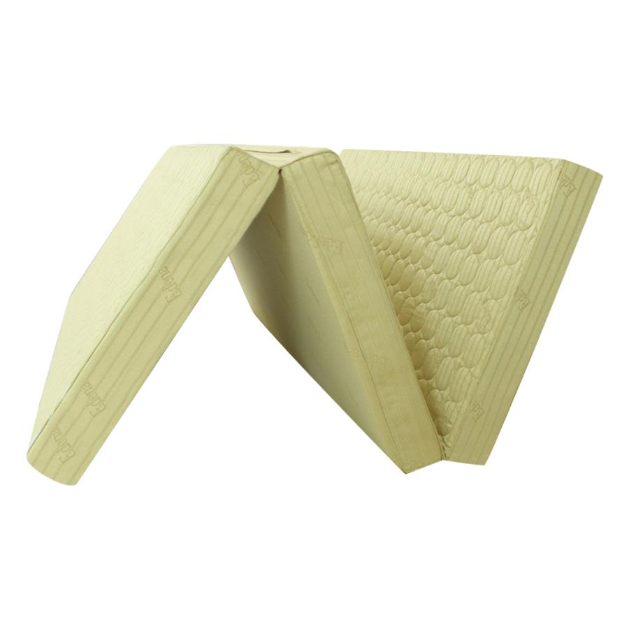 Nệm Bông Ép Gấp 3 Chần Gòn Edena EDCG1410 (140 x 195 x 10 cm) - Màu Ngẫu Nhiên