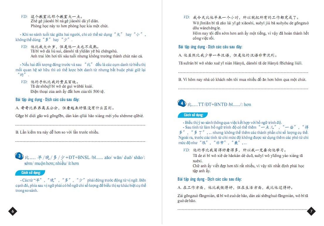 Combo Tuyển tập cấu trúc cố định tiếng Trung ứng dụng & Sổ tay 7 bước đàm phán thương mại
