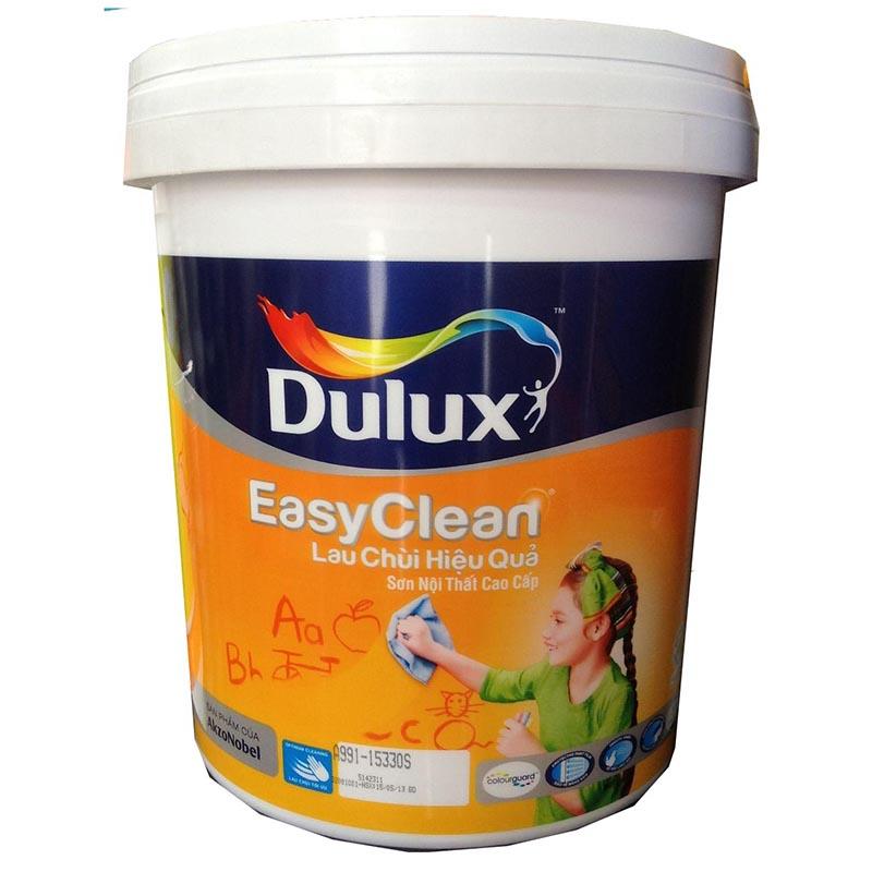 Dulux EasyClean Lau Chùi Hiệu Quả - Bề mặt Bóng Màu 122
