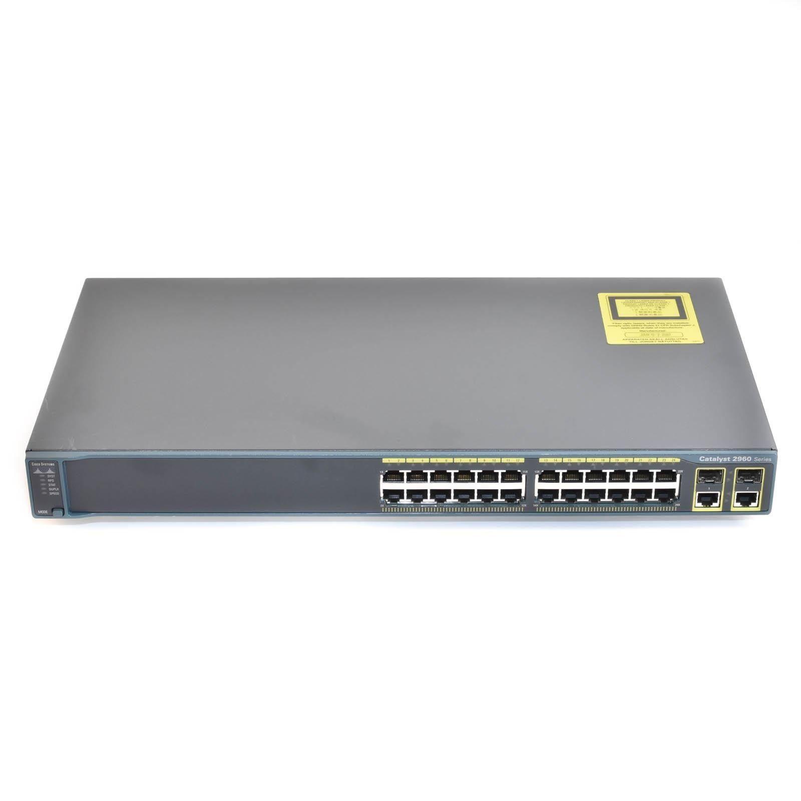 Switch Cisco Catalyst WS-C2960S-24TS-L - Hàng  chính hãng
