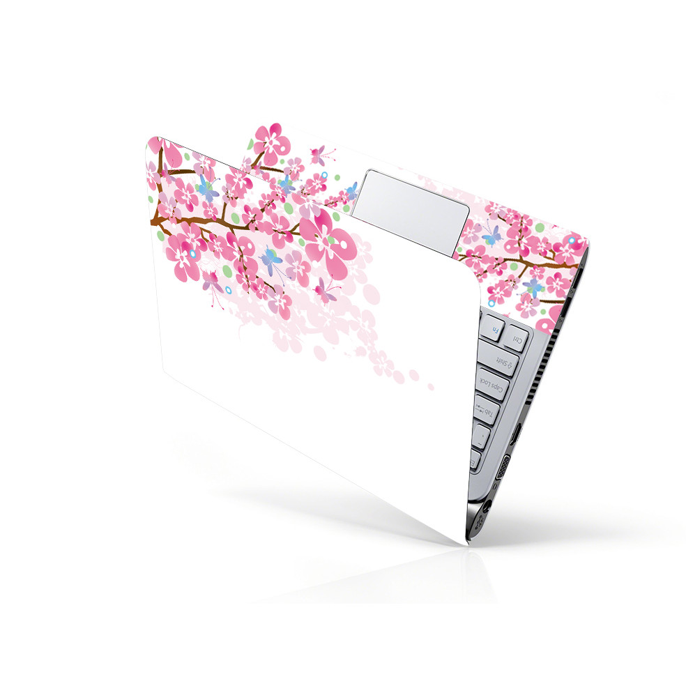 Miếng Dán Decal Dành Cho Laptop Mẫu Hoa Văn LTHV-108 cỡ 13 inch