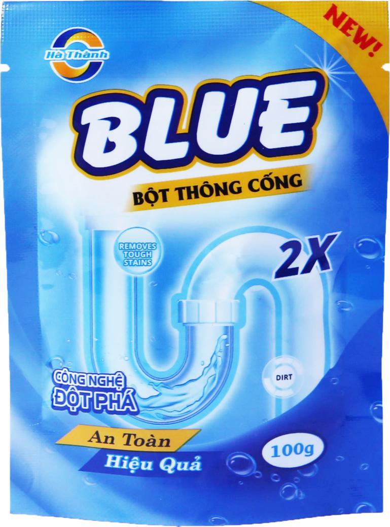 Combo 5 gói thông tắc đường ống cực mạnh 100g Blue