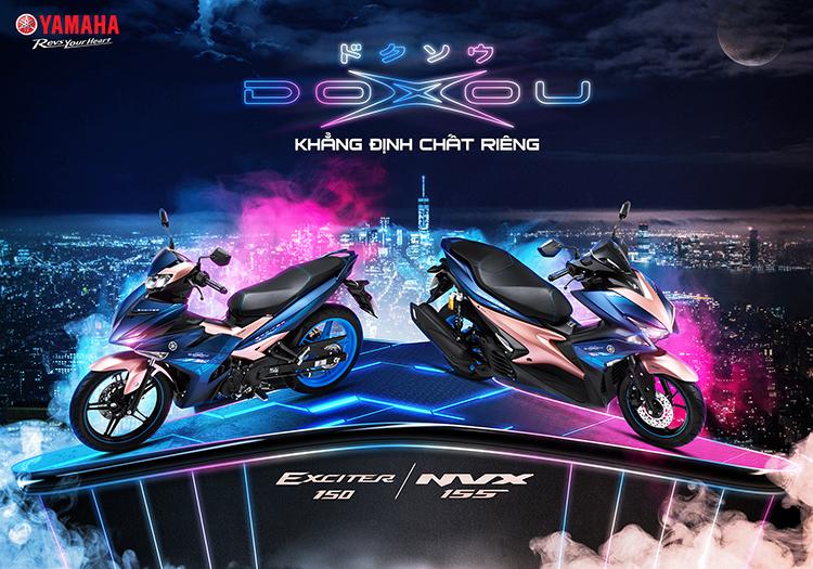 Xe Máy Yamaha NVX 155 - Phiên Bản DOXOU