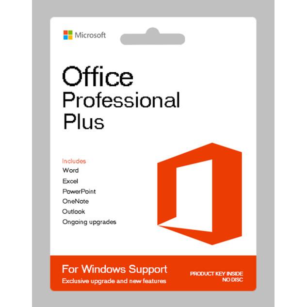 Phần mềm Microsoft Office 2019 Professional Plus 64 bit (Bản quyền vĩnh viễn) - Hàng Chính Hãng