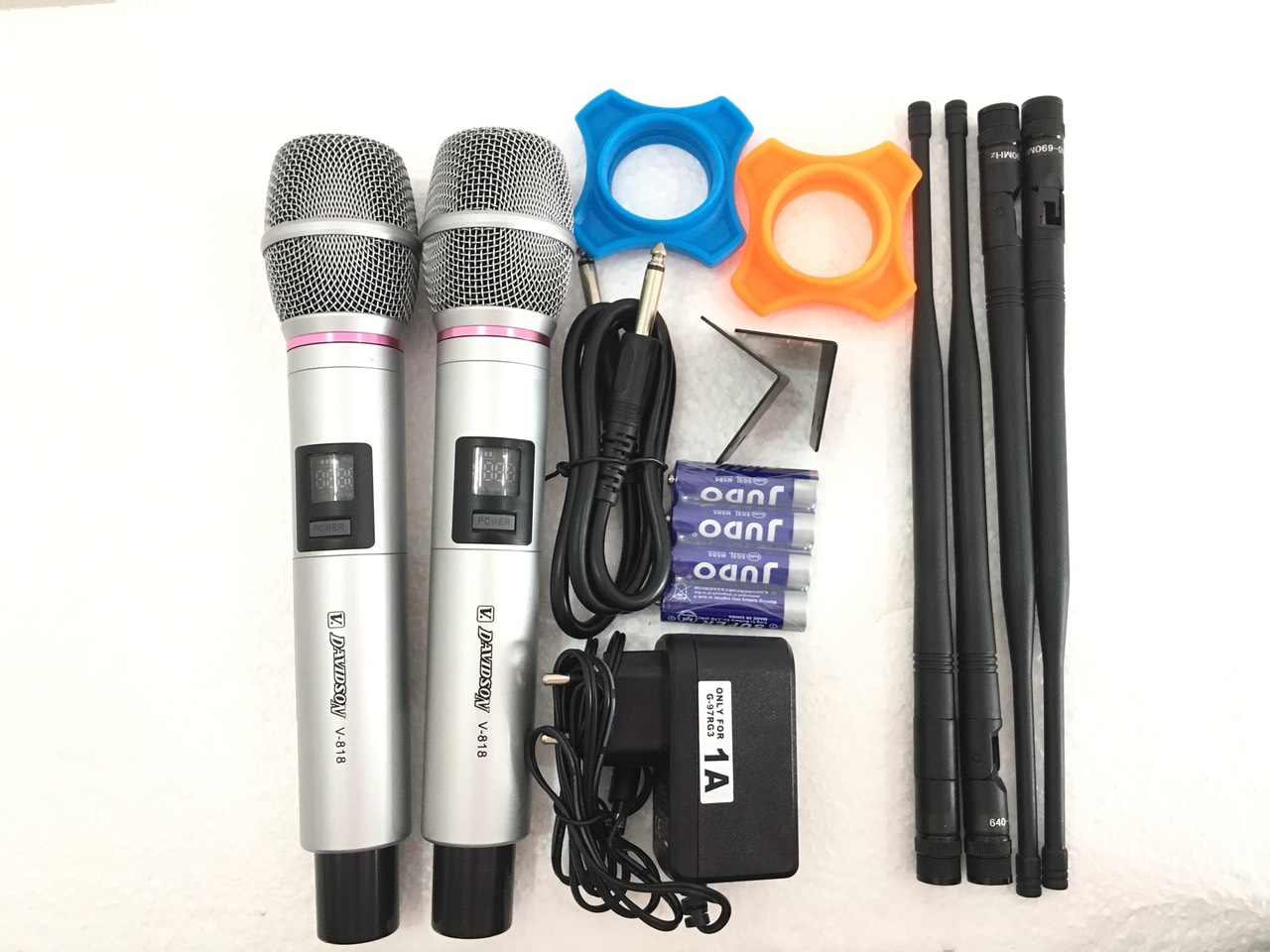 """Micro amply """"DAVIDSON V818"""" karaoke cao cấp – HÀNG VIP - SẢN PHẨM CHÍNH HÃNG"""