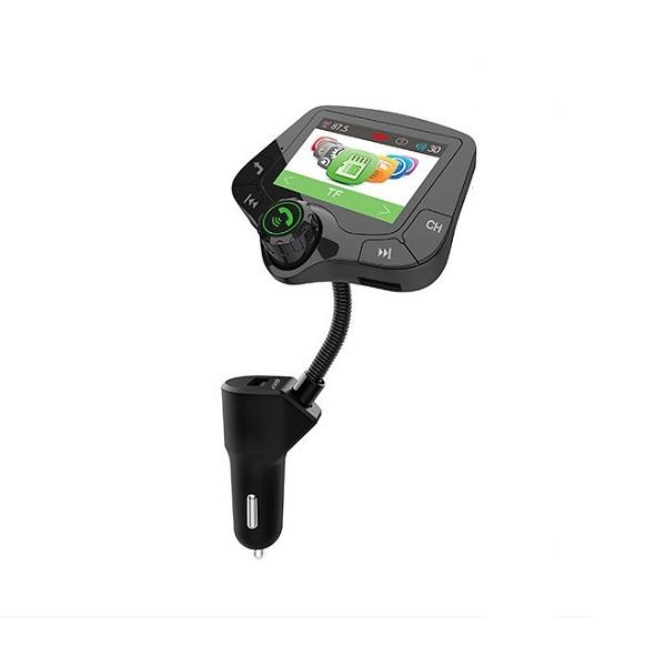 Chuyển đổi nhạc MP3 – FM trên ô tô có blutooth T10 (Tặng kèm miếng thép đa năng 11in1)