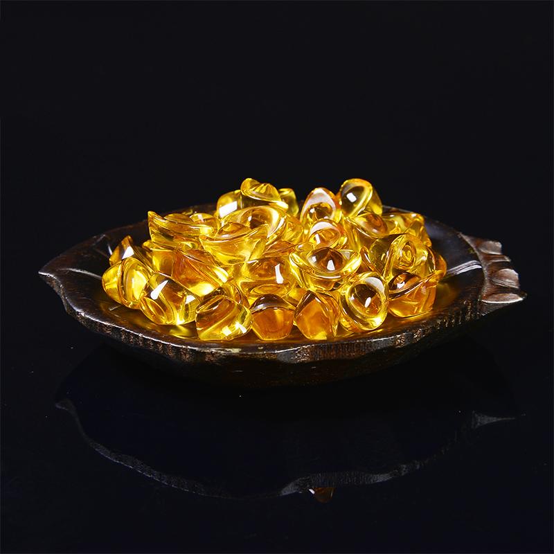 Combo 10 thỏi Kim Nguyên Bảo size 1.5cm - Thỏi vàng phong thủy Thần Tài may mắn