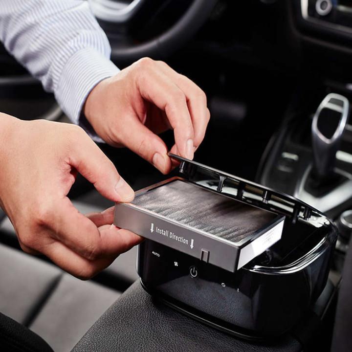 Tấm lọc, màng lọc GSF120 dùng cho máy khử mùi, lọc không khí ô tô, xe hơi Philips GP7101, GP5201, CP100, CP50 và GP3201 - Hàng chính hãng