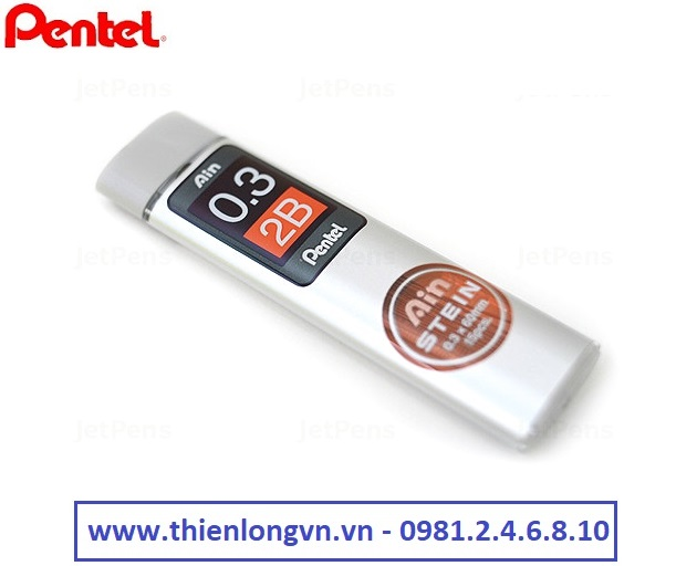 Ruột chì kim 0.3mm Pentel - Ainstein C273-2B