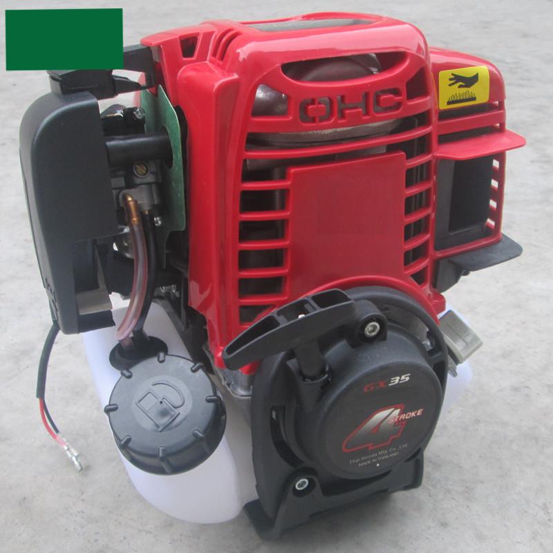 Máy cắt cỏ đeo lưng,  cần mềm GX35, máy cắt cỏ dùng động cơ 4 kỳ