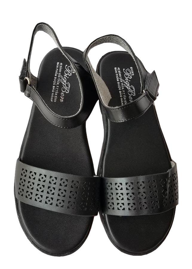 Giày Sandal Nữ BIGGBEN Da Bò Thật SDN47