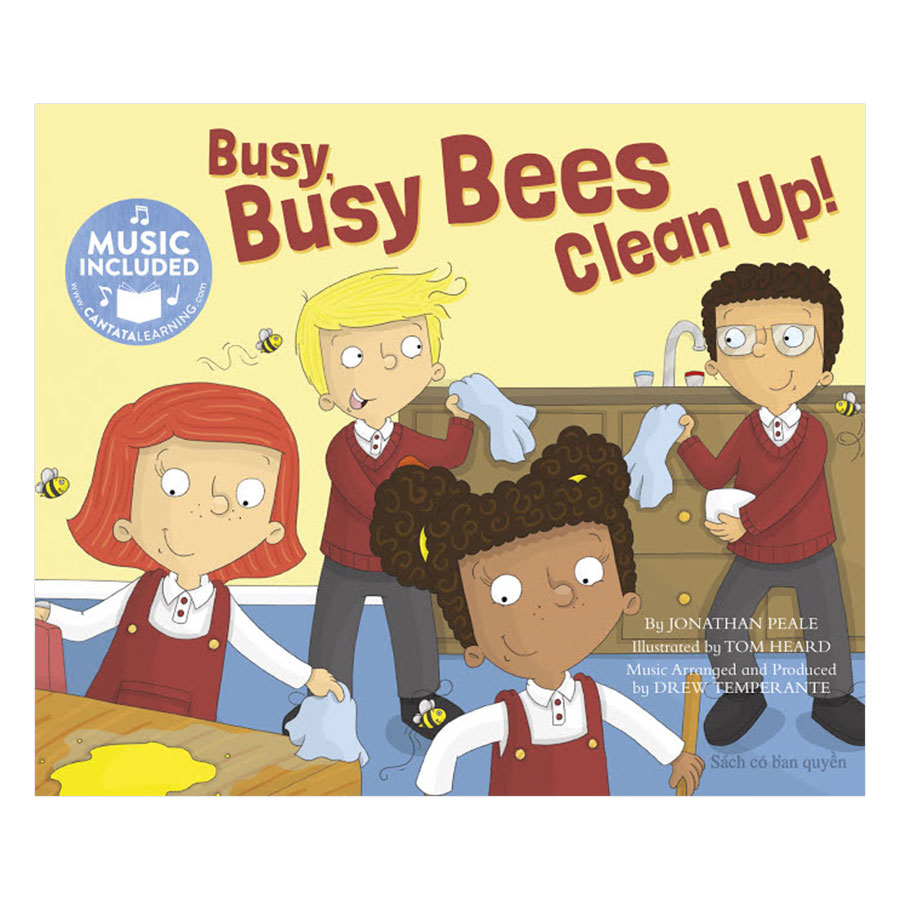 Busy Busy Bees Clean Up!