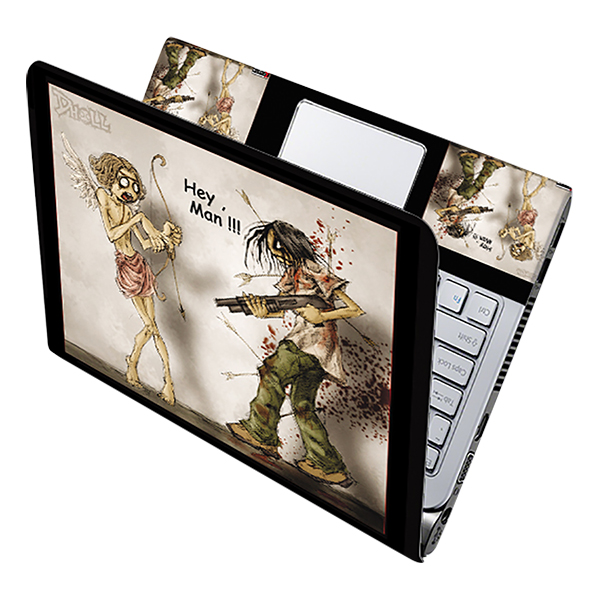 Mẫu Dán Decal Laptop Hoạt Hình Cực Đẹp LTHH-03