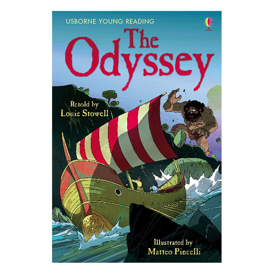 Usborne Young Reading Series Three: The Odyssey