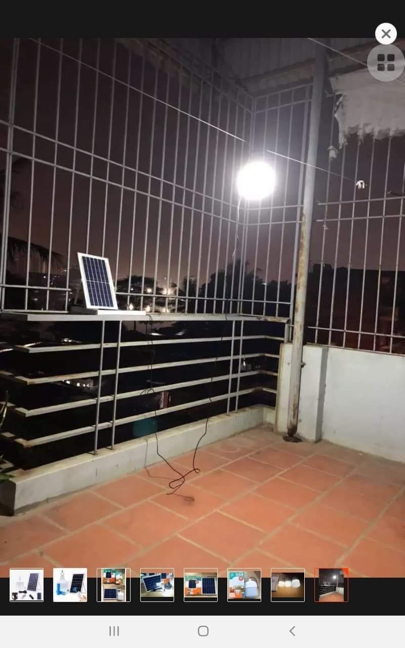 Đèn Bulb năng lượng mặt trời 150W